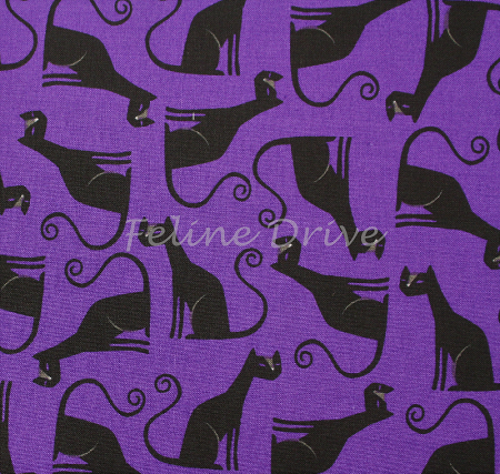Eerie Alley - Cats - Purple