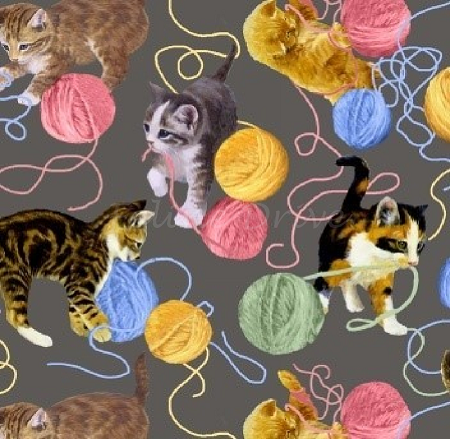 Furr Ever Friends - Kittens & Yarn
