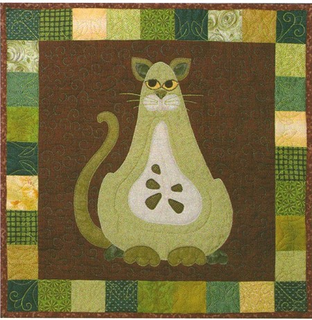 Pattern - Garden Patch Cats - Boscat - Block 2