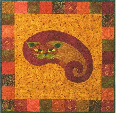 Pattern - Garden Patch Cats - Kitt'ney Bean - Block 3