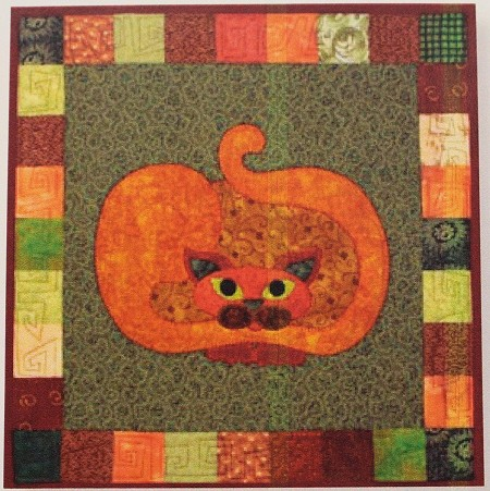 Pattern - Garden Patch Cats - Pumpkat - Block 5