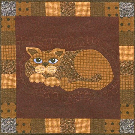 Pattern - Garden Patch Cats - Tater Puss - Block 23