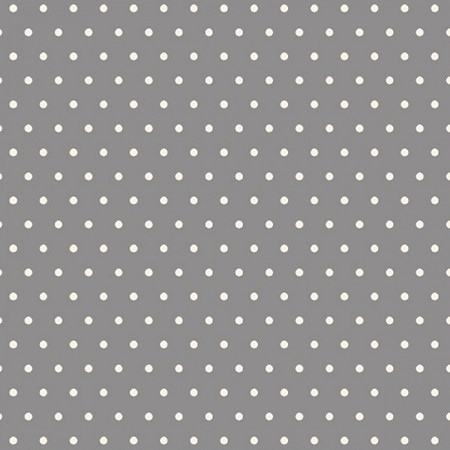 Fat Quarter - Grumpy Cat - Dots - Gray