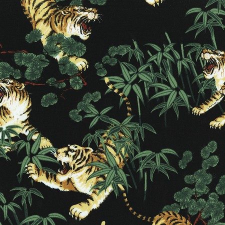 Fat Quarter - Imperial Palace - Tigers