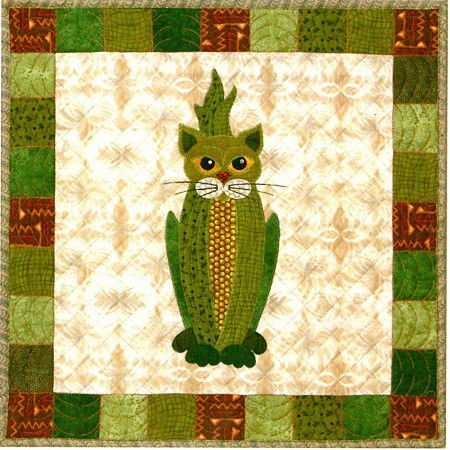 Kit - Garden Patch Cat - Block 20 - Cobby Cat