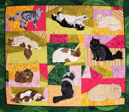 Pattern - Long Haired Cats