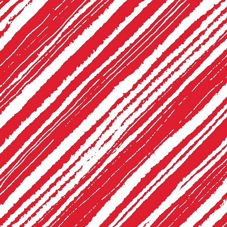 Make Merry - Wrapping Stripe - Red
