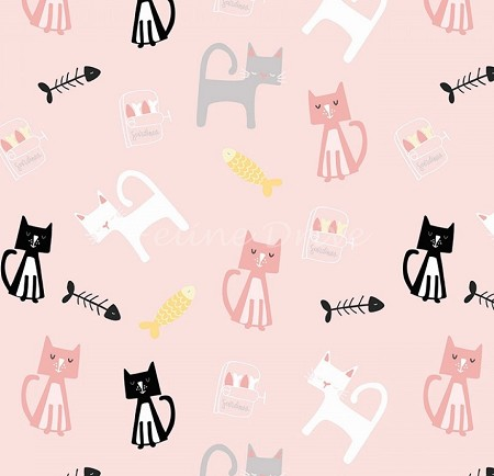 Meow & Forever - Cat Toss - Pink