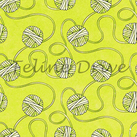 Fat Quarter - Miss Kitty's Colors - Yarn - Green