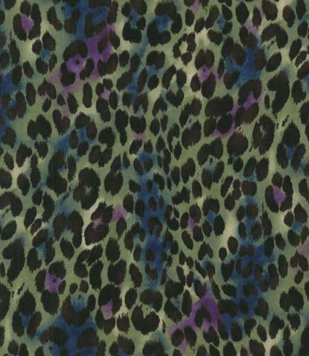 Return to Africa - Cheetah Spots - Green