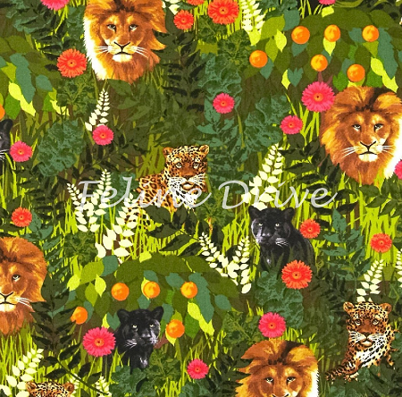 Sew Rousseau - Green Jungle