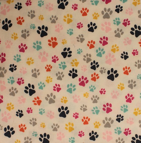 Fat Quarter - The Cat's Meow (Dear Stella) - Paw Prints