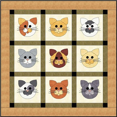Pattern - Tom Cats