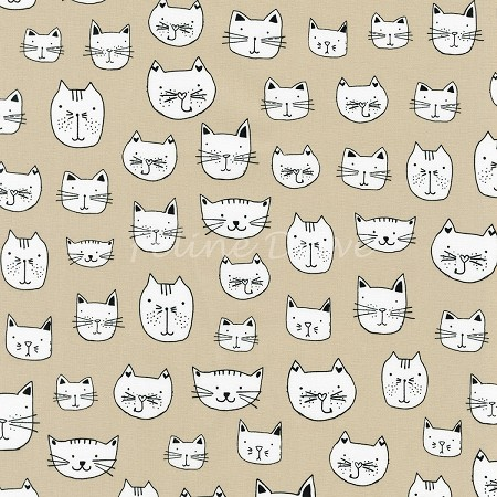 Whiskers & Tails - Kitty Heads - Natural